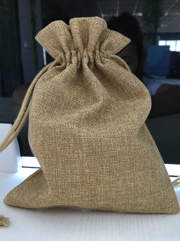 high quality small cotton drawstring bags fabric net gift bag