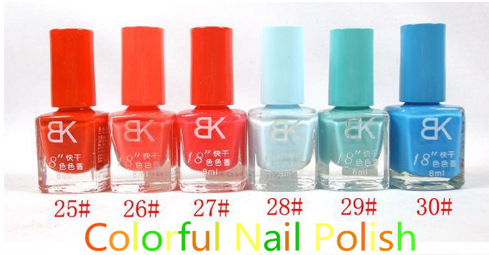 poland cosmetic bulk nails natural nail polish varnish 8ml
