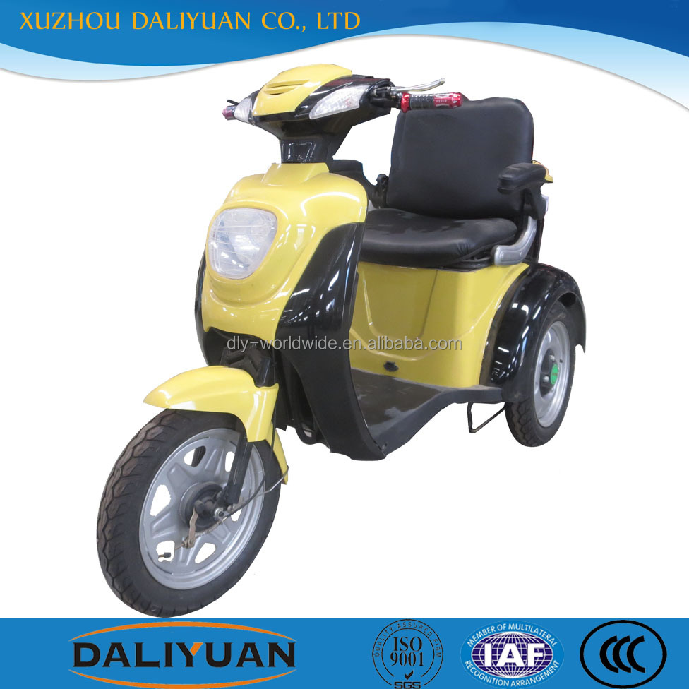 Daliyuan NEW electric 3 wheel motorcycle with roof 3 spoke wheel