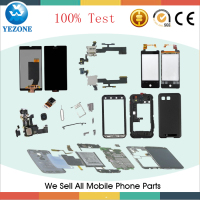 Wholesale New well Price High Quality LCD + Touch Screen With Frame for Samsung Galaxy Note2 N7100