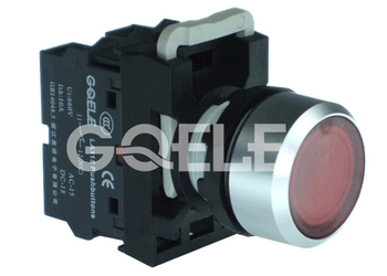 LA115 illuminated push button switch