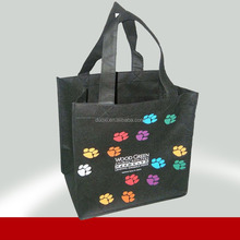 Best selling Eco-friendly non woven oversized tote bag 100% manufacturer