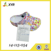 cheap baby/kids/girls/women Manufacturing eva garden shoes