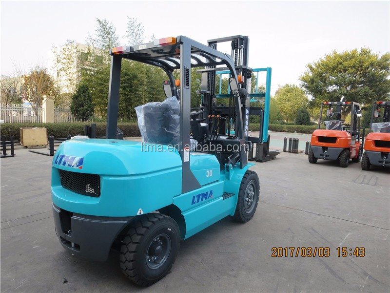 Good quality new 3 ton diesel forklift price