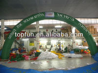 inflatable finishing line arch/cheap inflatable arch for sale/inflatable advertising arch