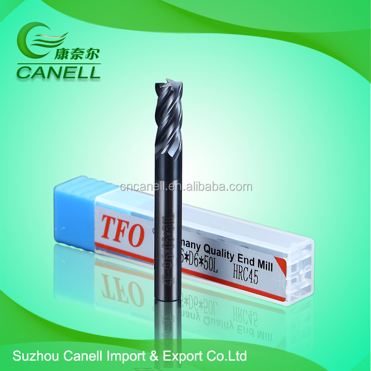 End Mill Carbide/ 4 Flute Milling Cutter/CNC Diamond Tools