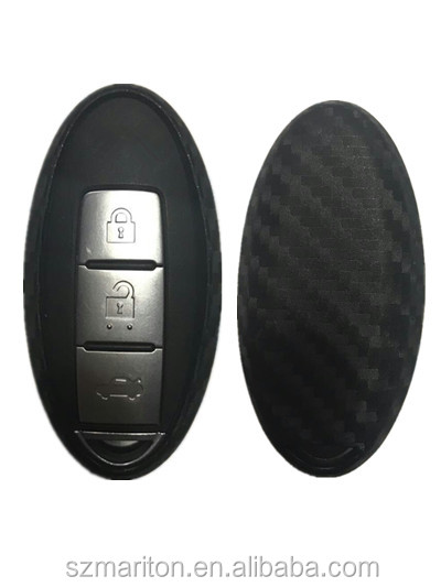 New car parts spare 4D carbon fiber silicone car key case for Opel insignia astra adela with retail package on stock