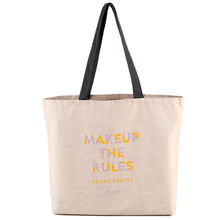 Buy Promotional Heavy Duty Printed LOGO Natural Cotton Canvas Tote Bags