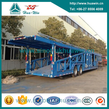2 Axle Carrier Semi Trailer for Car and Mini Bus Transportation