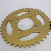 motorcycle spare parts for mini 49cc motorcycle/moto accessories sprockets