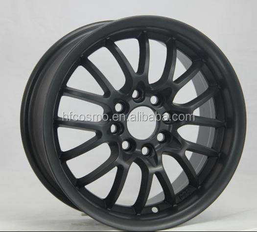 Replica black finishing wheels/aluminum alloy wheels/alloy rims