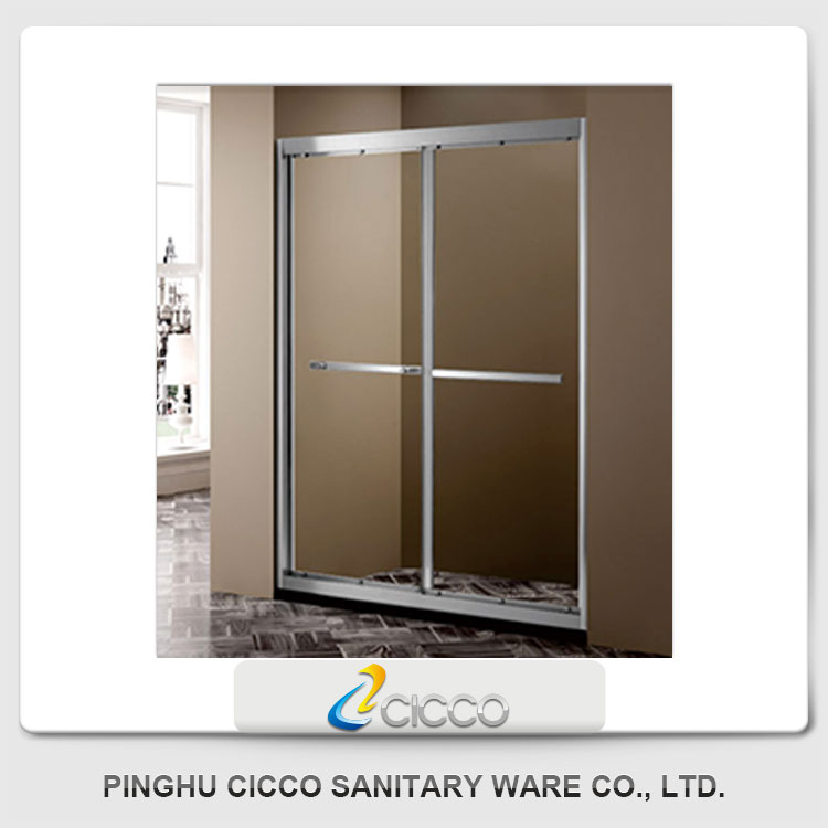 China Wholesale High Quality Bubble Glass Shower Door