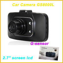 "gs8000l manual car camera hd dvr,2.0""screen lcd car dvr 1080p,g-sensor car dvr black box"