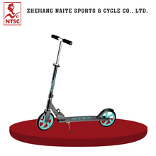 Professional Made Aluminum Adult Two Big Wheel Stand Up Kick Scooter For Sale