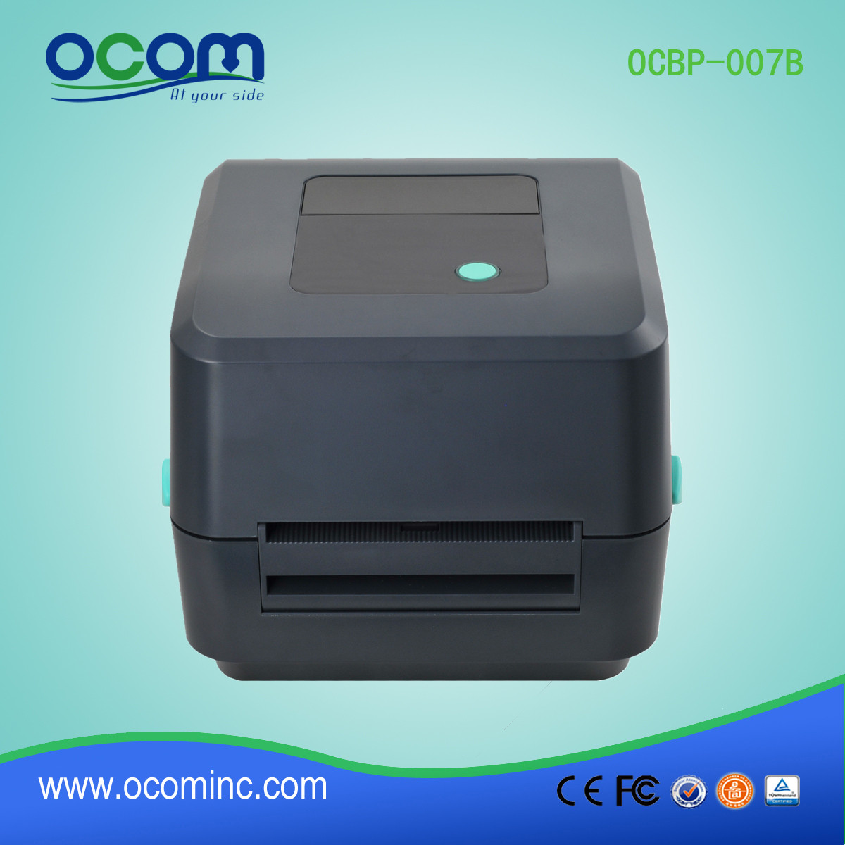4 inch thermal sticker barcode label thermal printer machine for label printing