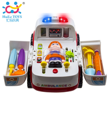 Huile Best Sell Large Ambulance Toy Car