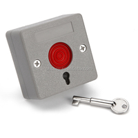 Key reset Security alarm siren wireless / wired panic button
