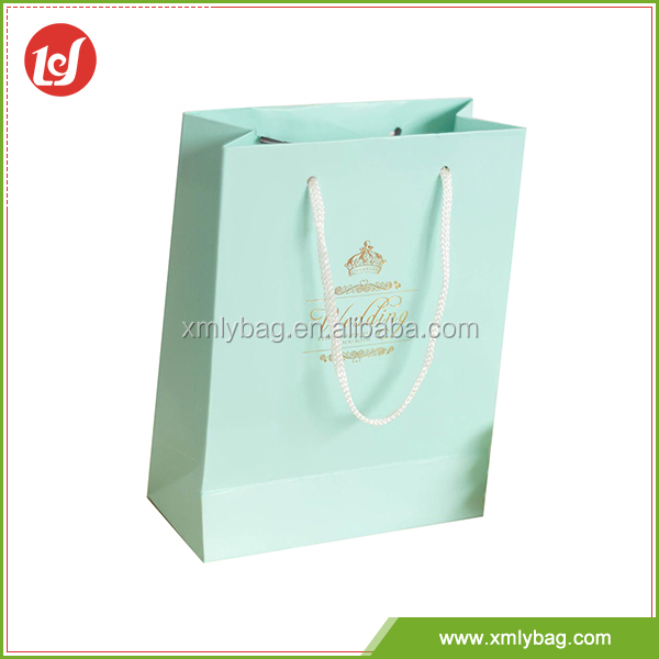 Good price fancy wedding paper bag for gift packing