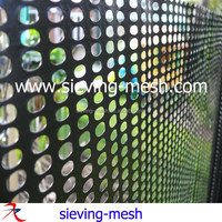 Plastic windbreak fencing mesh, plastic security fencing