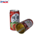 5104# OEM Empty Round Tin Can Supplier for Beverages Canning 250ml