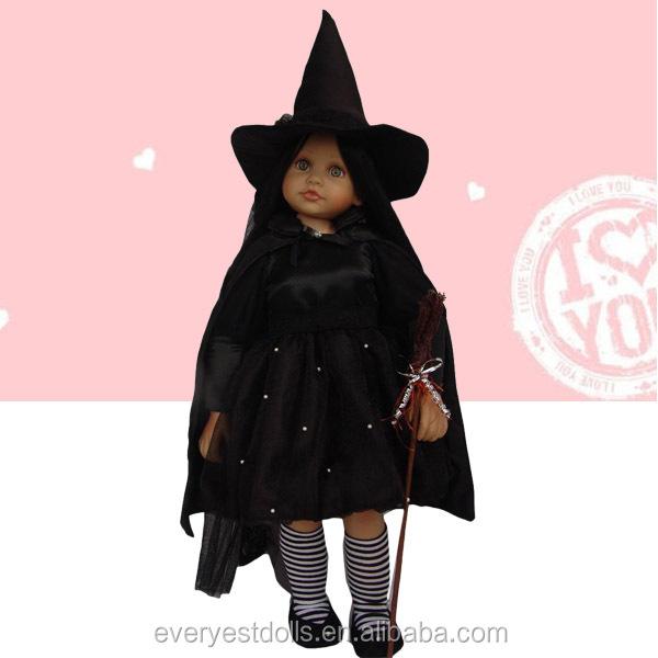 Костюм ведьмы для куклы