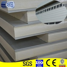 osb eps polyurethane/rockwool decorative sandwich wall panels