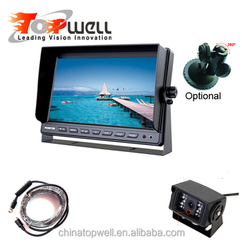 Factory Price Reversing Backup Camera Kit With 10.1Inch Monitor Waterproof HD Camera And 10m Cable