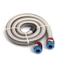 PAL GSL1008 High Quality Kit Fuel Line Gas 3/8 in. i.d. 3 ft. Length Braided Stainless Steel