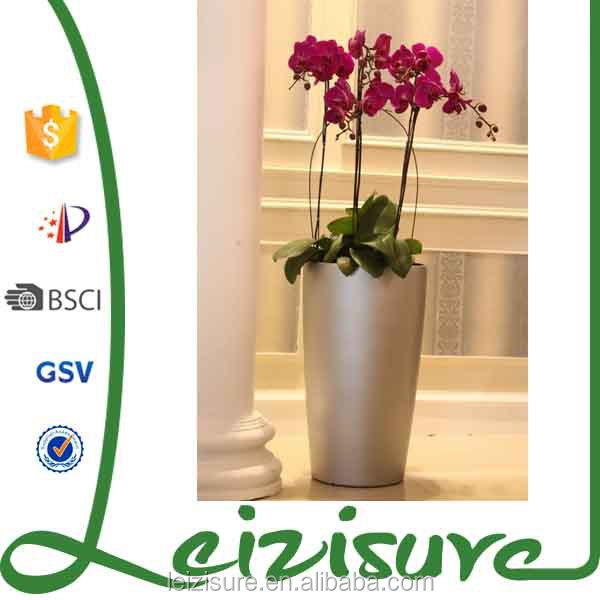 indoor round planter flower pots garden large plastic plant pots for christmas ornaments