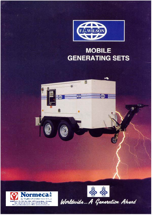 Mobile Generating set