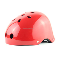 skateboard sport headgear helmet with comfortable fabric padding