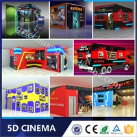 Most Attractive 5D Cinema Equipment Electric System 7D Simulator