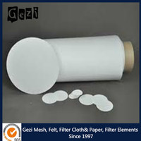 Gezi micro glass fiber filter paper