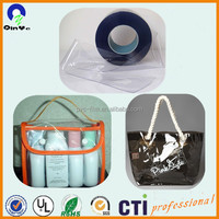0.2mm Printing and Packacge Super Clear PVC Soft Film Roll Plastic Bag