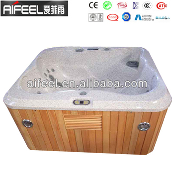 new Chinese manufacturer of outdoor hot tub Air bubble massage whirlpool spa