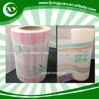 Cloth-like film back sheet raw material for baby diaper