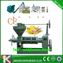 Automatic home-used mini screw oil extraction press for sunflower feed
