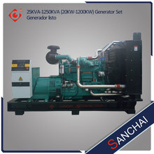 Chinese Natrual/Bio Gas Generator Set 10kw-700kw 1800rpm for sale
