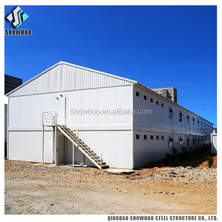 Cheap Steel Labour Camps Steel Frame Apartment Building Design
