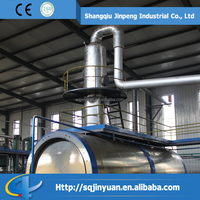 Energy Saving Crude OIl /Pyrolysis Oil / Waste Oil Distillation Plant Without Pollution