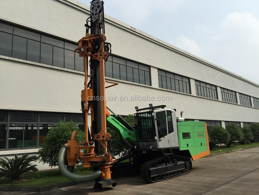 Hot sale Chinese brand ZEGA open air hydraulic crawler drill rig