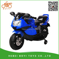 high quality Qiangjiu Company BOYI electric toy motorcycle for kids with lights and music