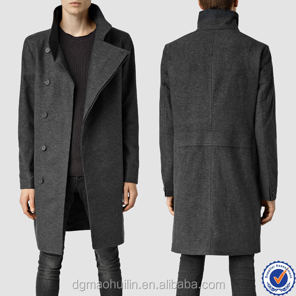 korean fashion overcoat winter coats for men