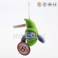 Cute stuffed animal keychain making supplies