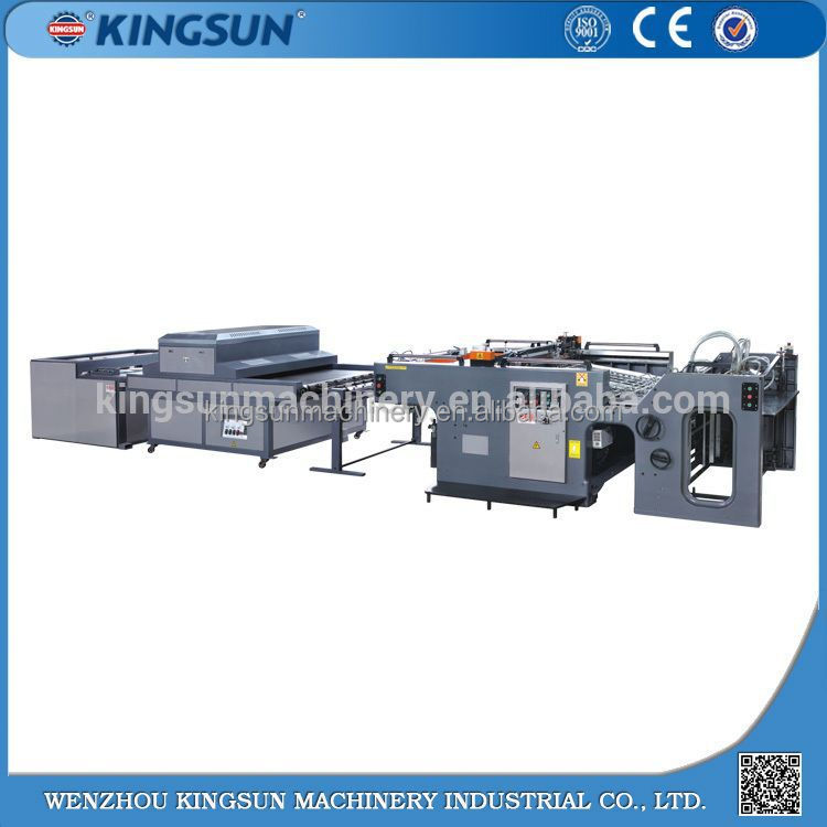 Favorable Price 8 Color T-Shirt Silk Screen Printing Machine