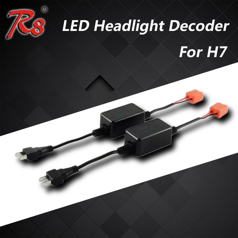 New Arrival H7 Car Led Headlight canbus DC 9V-36V Warning Canceller H8 H9 H11 No Error led Headlight Decoder