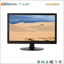 IS09001 CCTV LCD monitor manufacturer 21.5 inch surveillance BNC CCTV LED monitor for full HD CCTV camera