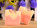 natural handmade rose cold process soap/cold made soap