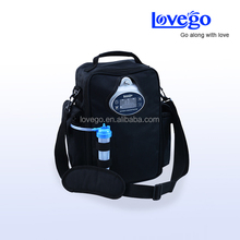 Lovego portable oxygen concentrator G2 with two batteries