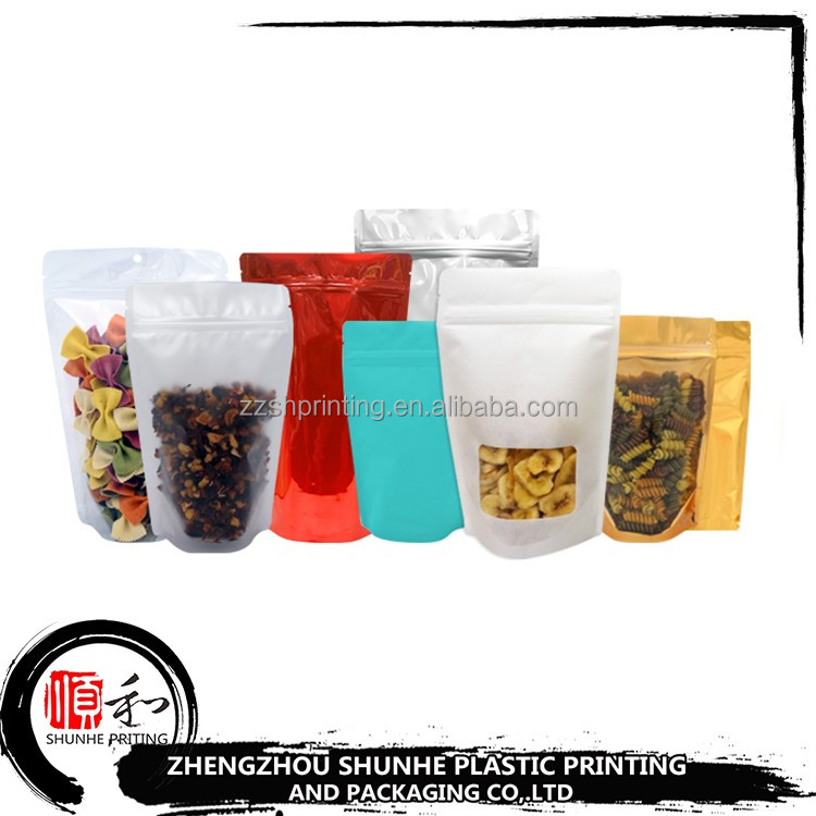Hot selling customized printing food grade nut dry fruit pouch